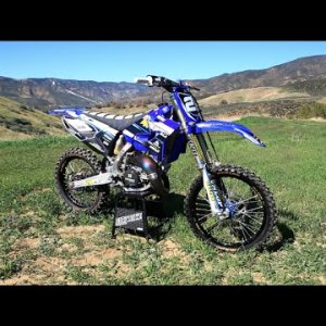The 2 Stroke Dream Epic YZ 125 session