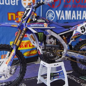 Inside Justin Barcia's Factory JGR Yamaha YZ450F - Motocross Action Magazine