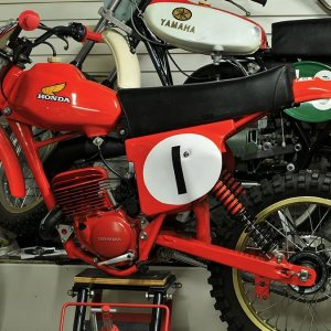 Marty Smith's 1976 CR125M