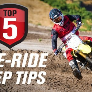 Top 5 Dirt Bike Pre-ride Prep Tips