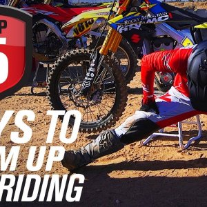 Top 5 Ways To Warm Up Before Riding