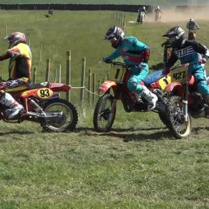 Classic Motocross The Cumberland Grand National 2018 Part 1