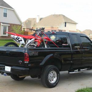 04 CRF 450 - Off to Nocona