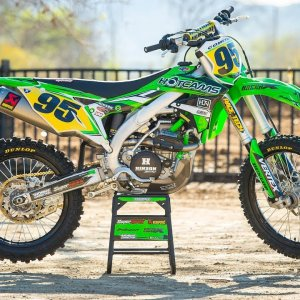 2018 Kawasaki KX450F Bike Build